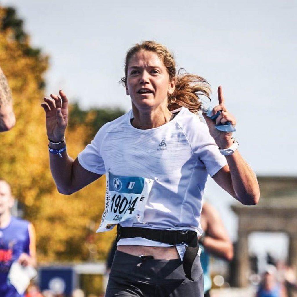 Claire Pola, record perso sur le marathon de Berlin