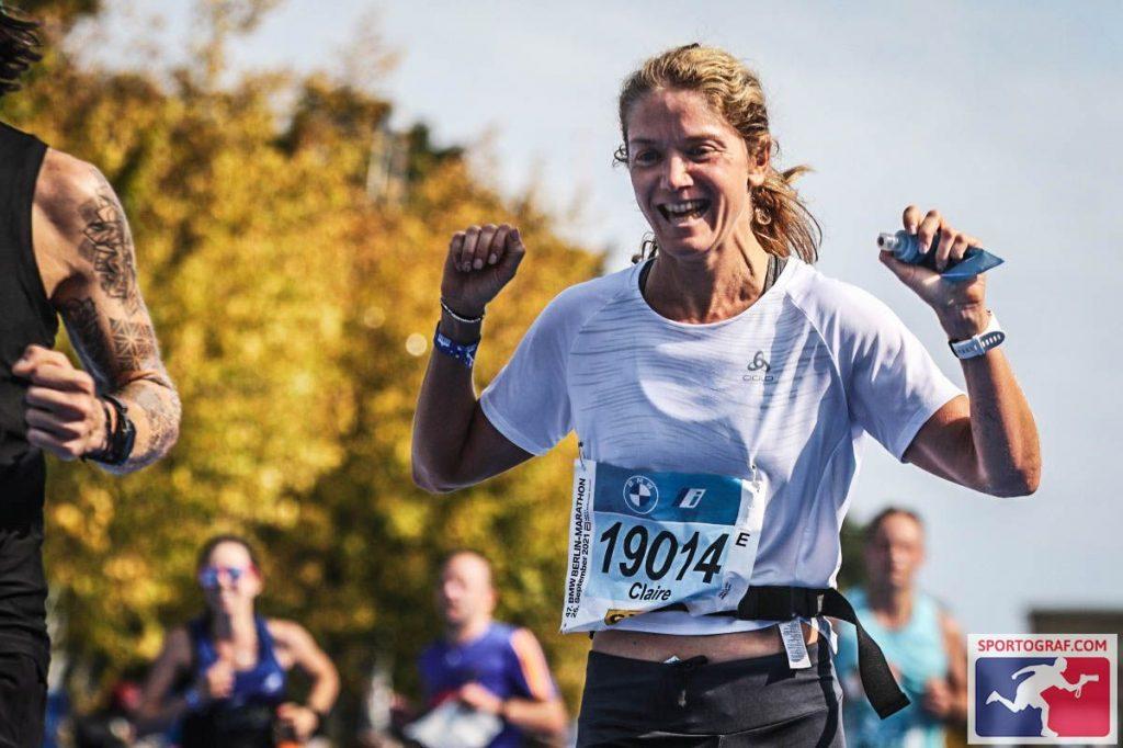 Claire Pola, une course en gestion
