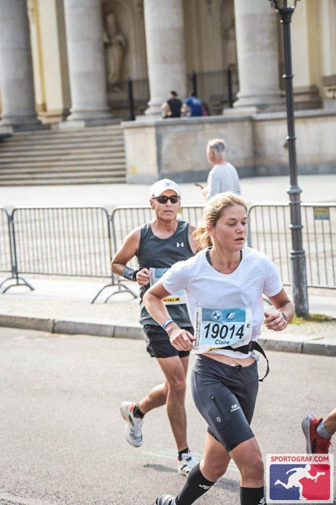 Claire Pola 3h32 sur le marathon de Berlin